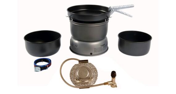 Set de hornillo Trangia 25-5 de aluminio con quemador de gas
